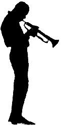 Miles Davis Silhouet