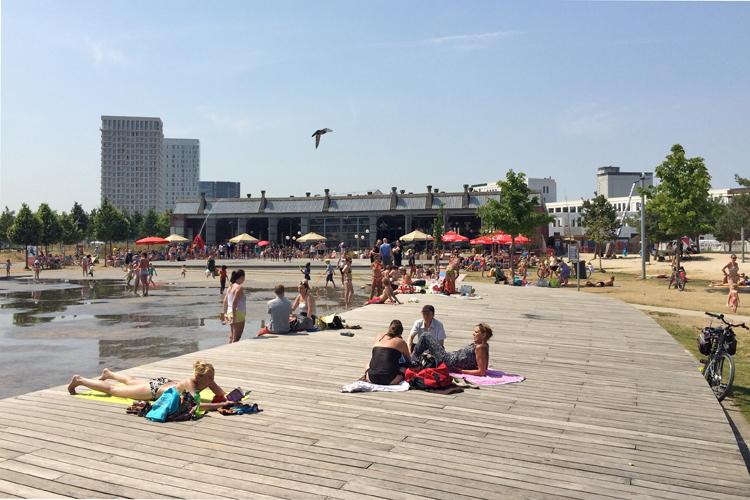 Park Spoor Noord Antwerpen - BW P5 Wireless