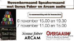 Overgaauw demonstreert Sonus Faber en Arcam