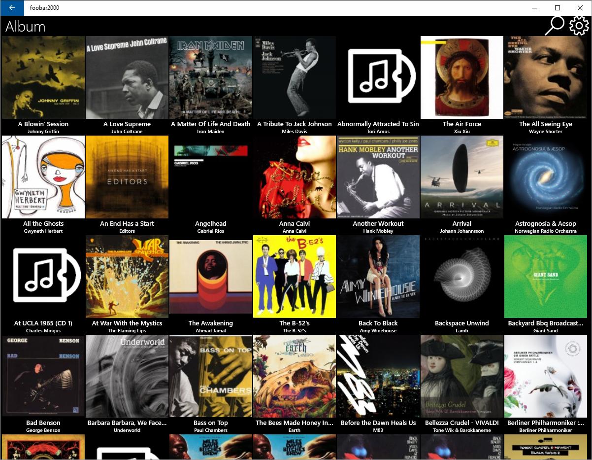Software om beter muziek te beluisteren windows for Food bar 2000