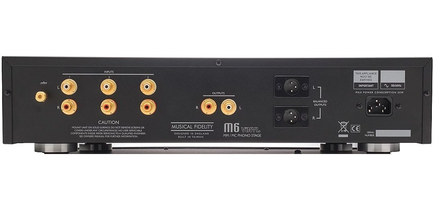 Musical Fidelitys nieuwste phono trap heet M6 Vinyl