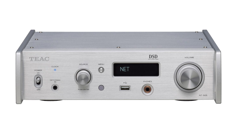 Review TEAC NT 505 DACnetwerkspeler en CG 10M klokgenerator