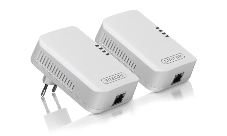 Powerline adapters & Homeplugs Internet via het st