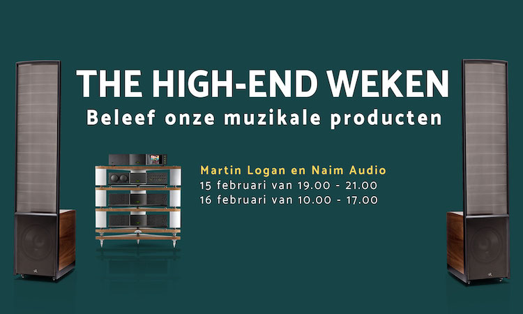 Naim en Martin Logan bij The Hifi Studio Number On