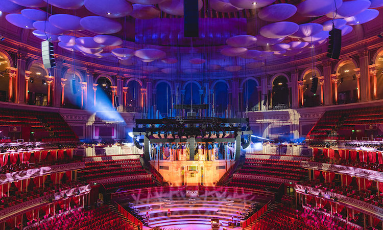 Royal Albert Hall audiosysteem