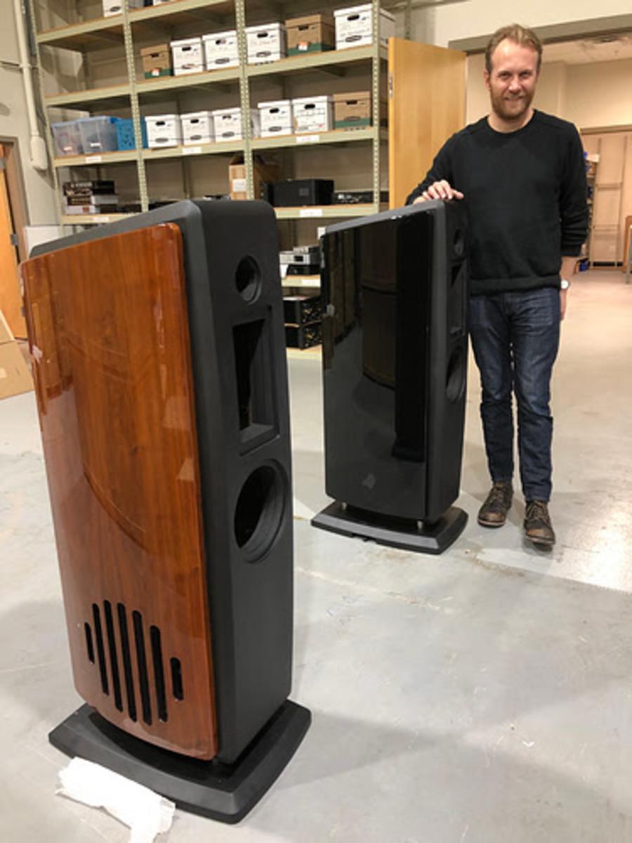 PS Audio toont met de AN3 zijn eerste luidspreker
