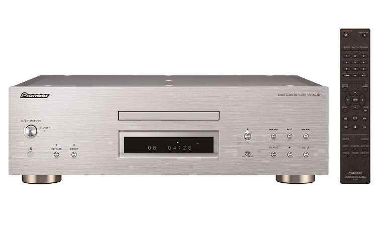 2019-09-06 Pioneer PD-50AE front silver