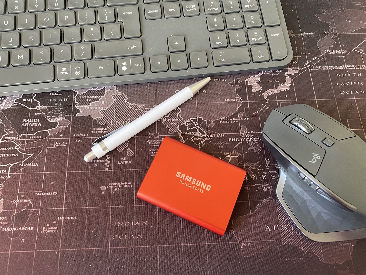 Review Samsung t5 ssd