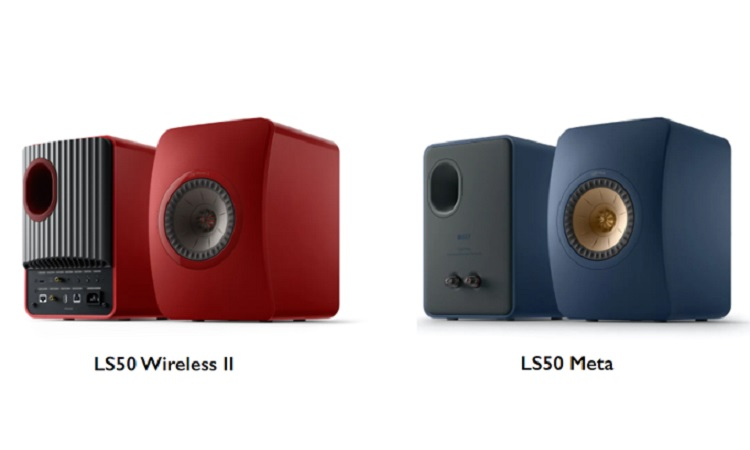 2020-09-21 KEF-LS50 Meta and KEF Wireless II