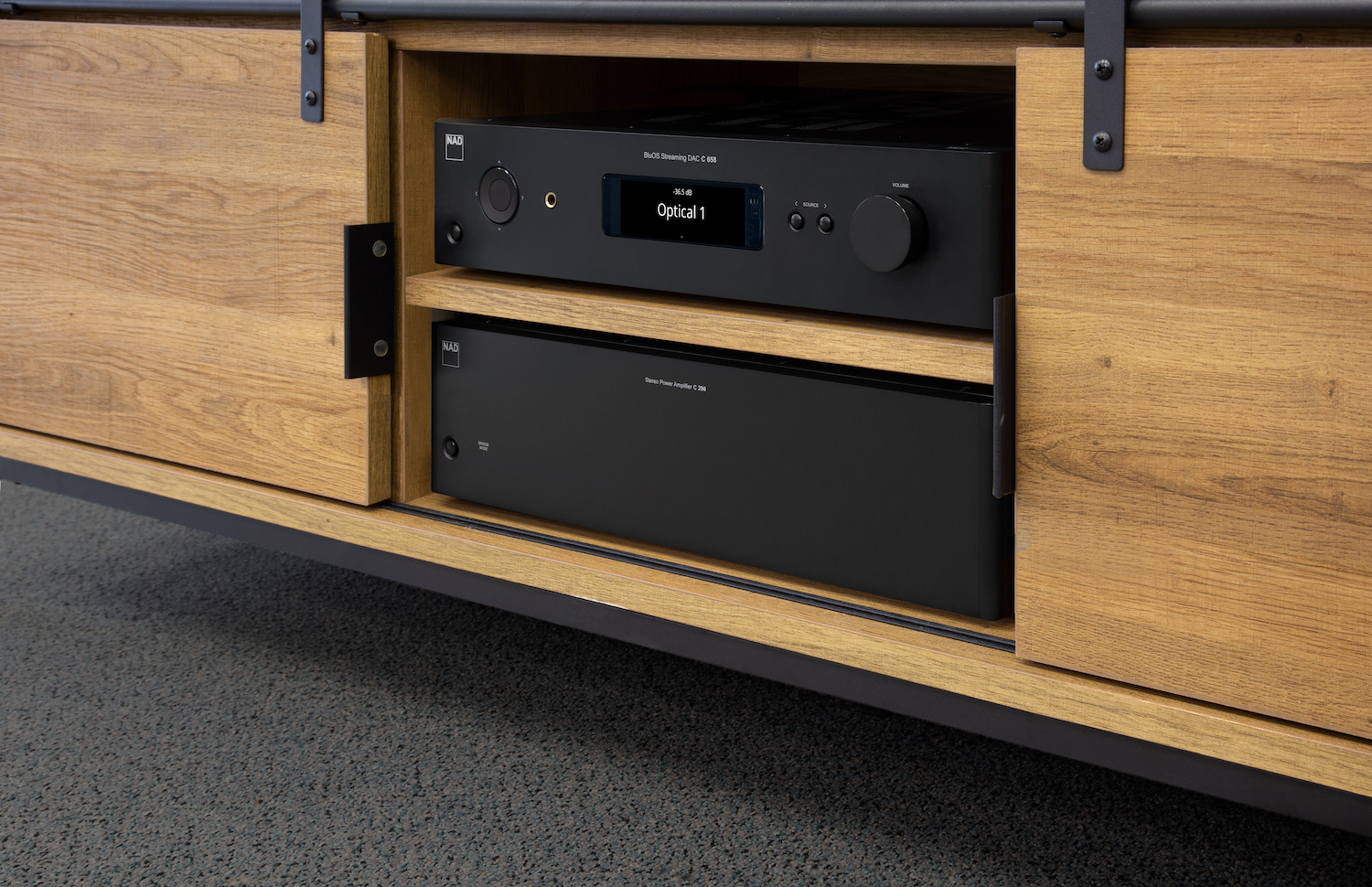 Review NAD C 298