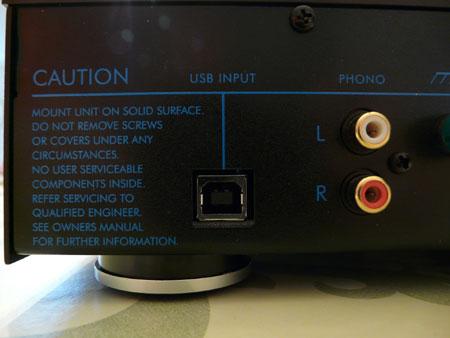 Musical Fidelity A1 versterker USB