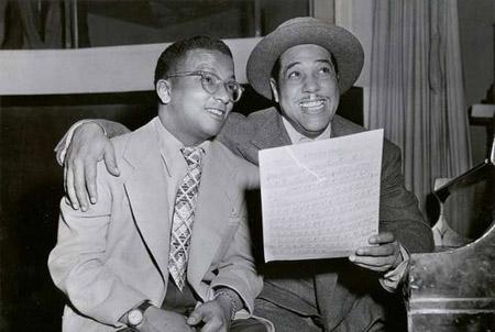 Duke Ellington en Billy Strayhorn