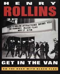 Henry Rollins – Get in the Van
