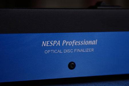 Nespa Professional Optical Disc Finalizer