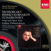 Vishnevskaya - Songs and Opera Arias