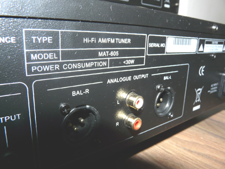 Advance Acoustic MAT605 en MDB607
