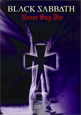 DVD Black Sabbath - Never Say Die