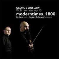 George Onslow Violin Sonatas op. 16