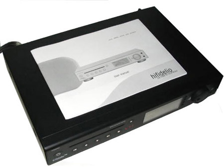 Hifidelio 400GB music server met vM modificatie