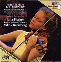 Tchaikovsky Violin Concerto in D Op. 35 - Julia Fischer