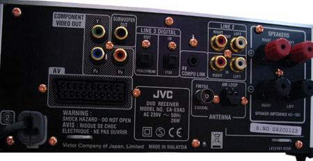 JVC EX-A3 Wood Cone