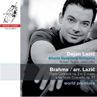 Brahms / Lazic – Piano Concerto No. 3 in D major