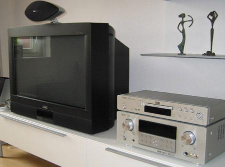 Marantz SR5500 surround receiver, DV6500 multiplay