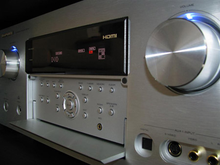 Marantz SR7002 Home Theater Receiver en DV7001 dvd/ multispeler
