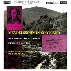 "Mendelssohn : Symphony Nr. 3, Overture ""The Hebrid"