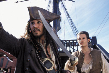 Pirates of the Carribean: The curse of the Black P