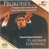 Prokofjev – Symphony No 5 / Ode to the End of the War