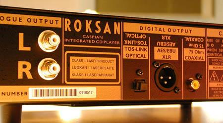 Roksan Caspian M series-1 CD speler (c) Xingo (c)