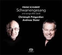 Schuberts Schwanengesang met Prégardien en Staier