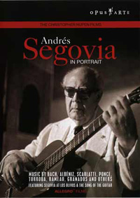 Andrés Segovia – In Portrait