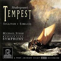 Shakespeare's Tempest - Sullivan / Sibelius