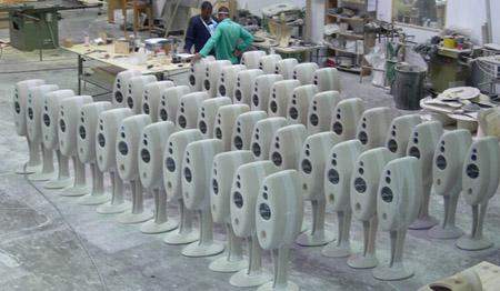Vivid Audio fabriek