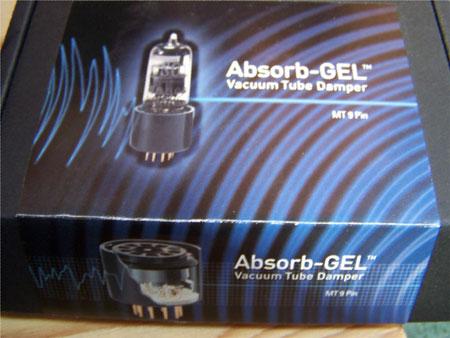 Xindac LP 1 phono versterker na modificatie Absorb Gel